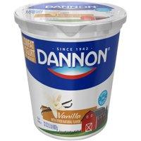 Dannon Natural Flavors Yogurt Low Fat Vanilla 32oz Tub product image