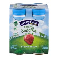 Stonyfield Farm Smoothie Strawberry 6oz 4Pack product image