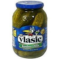 Vlasic Pickles Kosher Dill Wholes 46oz Jar product image