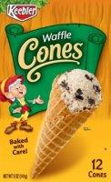 Keebler Ice Cream Cones Waffle 12CT 5oz Box product image