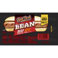 Ball Park Lean Beef Franks Bun Size 8CT Hot Dogs 14oz PKG product image