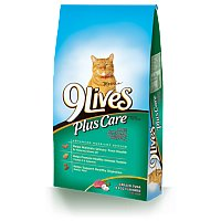 9 Lives Plus Care Tuna and Egg 3.15LB Bag product image