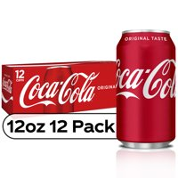 Coke Classic 12PK of 12oz Cans product image