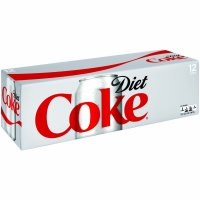 Coke Diet 12 Pack of 12oz Cans product image