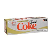 Coke Diet Caffeine Free 12 Pack of 12oz Cans product image