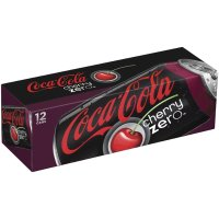 Coke Cherry Zero 12 Pack of 12oz Cans product image