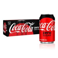 Coke Zero 12 Pack of 12oz Cans product image