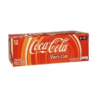 Coke Vanilla 12 Pack of 12oz Cans product image