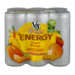 V8 V-Fusion Energy Drink Peach Mango 6Pk 8oz Cans product image 1
