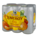 V8 V-Fusion Energy Drink Peach Mango 6Pk 8oz Cans product image 2