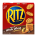 Nabisco Ritz Crackers Whole Wheat 12.9oz Box