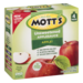 Mott's Snack & Go Unsweetened Applesauce 3.2 oz Pouches 4Count PKG