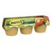 Mott's Unsweetened Applesauce 3.9oz EA 6CT 23.4oz PKG