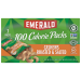 Emerald 100 Calorie Packs Roasted & Salted Cashew Halves & Pieces 7Pack Box 4.34oz
