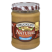 Smucker's Natural Peanut Butter Creamy 16oz Jar