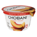 Chobani Non-Fat Greek Yogurt Peach 5.3oz Cup