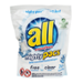 All Mighty Pacs 4x Concentrated Laundry Detergent Free & Clear 22 Pack
