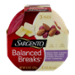 Sargento Balanced Breaks Natural White Cheddar Cheese, Sea Salted Roasted Almonds & Dried Cranberries  3 Pack