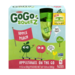 Materne GoGo Squeez Apple Peach Applesauce On The Go 3.2oz Pouch 4PK