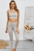 THE LACY SPORT TOP ICED LATTE *SIZES: S/M/L* *SPECIFY SIZE IN THE NOTES*