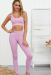 THE LACY SPORT TOP PURPLE *SIZES: S/M/L* *SPECIFY SIZE IN THE NOTES*