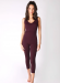 CATHERINE JUMPSUIT PLUM *SIZES SMALL AND MEDIUM* PLEASE SPECIFY SIZE IN THE NOTES