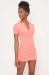 TENNIS CLUB DRESS CORAL S/M/L *PLEASE SPECIFY SIZE IN NOTES*
